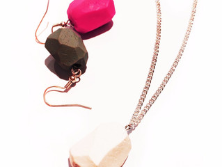 Novembers Mish Mash craft kit: How to make Polymer Clay Beads