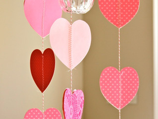 15 Minute Make: Heart Garland