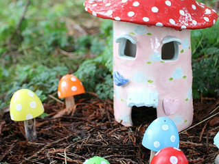 15 Minute Makes: Easter Toadstools