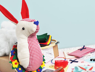 March's Kit - March Hare Sewing Kit