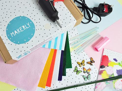 Make your own Felt Bouquet kit