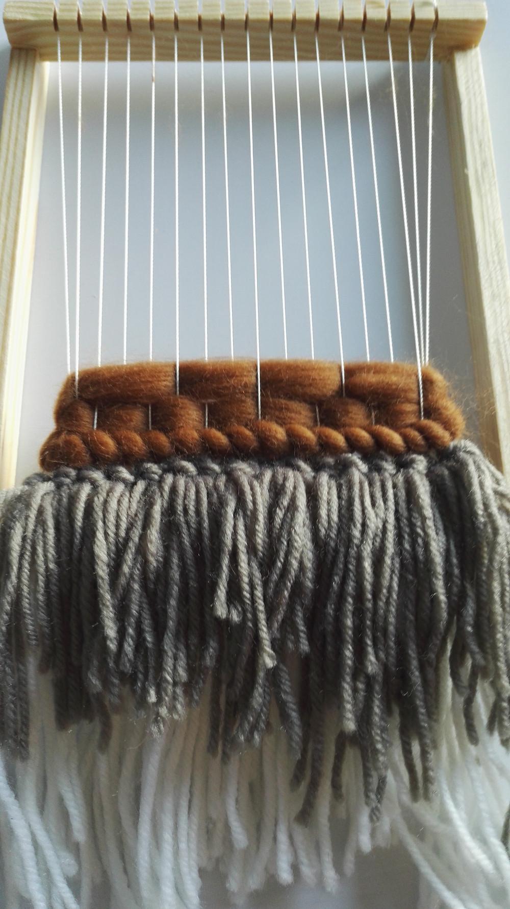 weaving loom craft kit