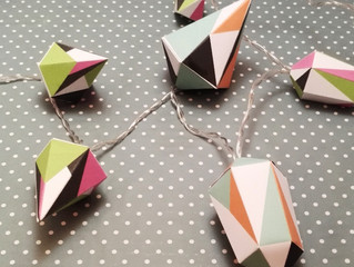 January's Paper-cut box: Gemstone Fairy Lights