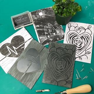 January 2021 - Lino Cutting Artwork