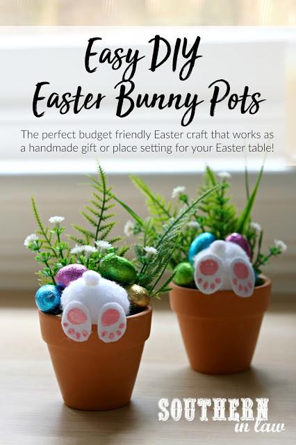 Curious Bunny Pot
