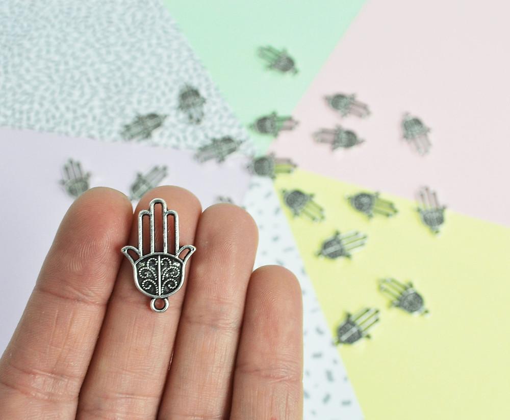 Hand of Hamsa charms