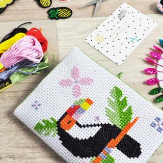 July 2019 - Toucan Cross Stitch Kit