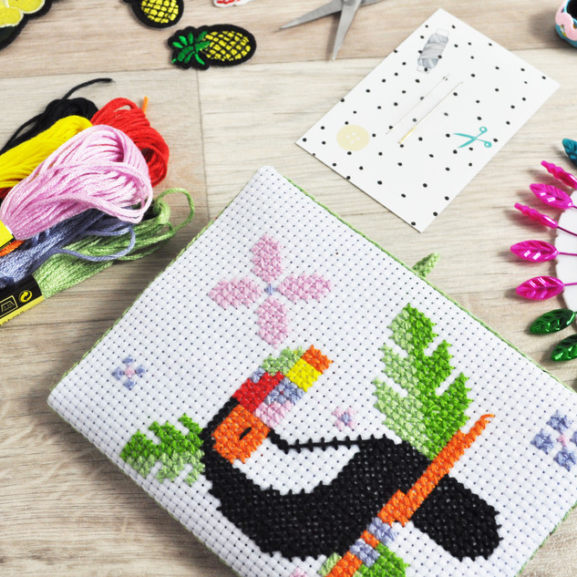 July 2019 - Toucan Cross Stitch Kit