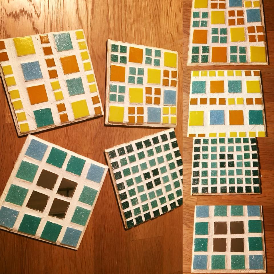 Make your own mosaic coaster craft subscription box