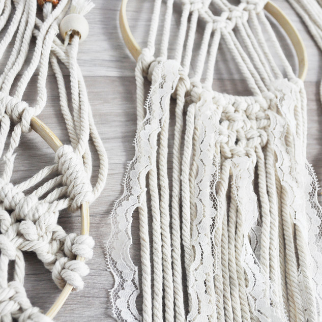 August 2019 - DIY Macrame Dream-catcher kit