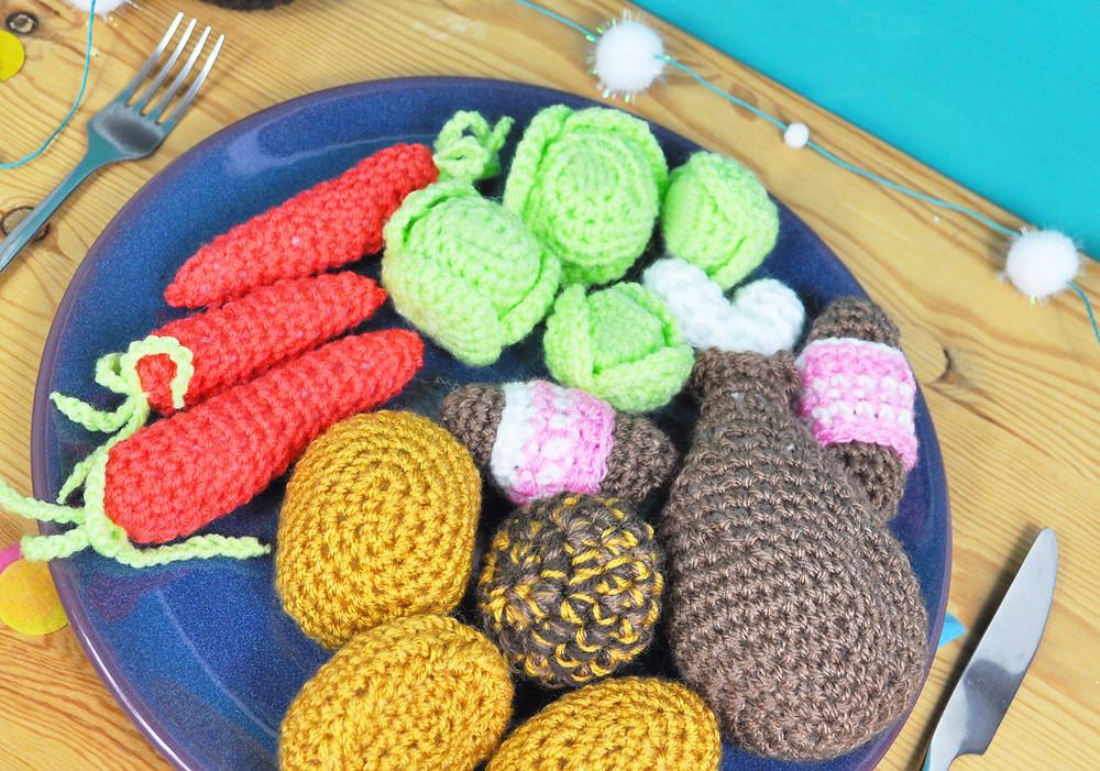 Crochet Christmas Dinner