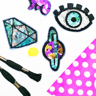 February 2020 - Sequin Patches Kit
