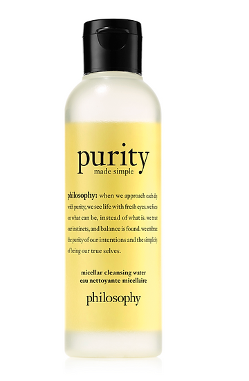 Philosophy Purity Made Simple Cleansing Water