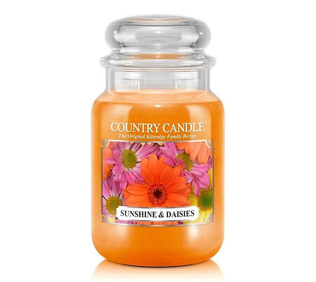 Country Candle Large Jar Sunshine & Daisies