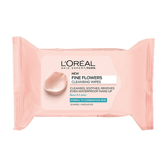 Cleansing Wipes For Normal To Combination Skin