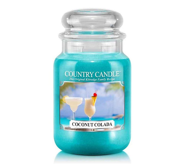 Country Candle Large Jar Coconut Colada