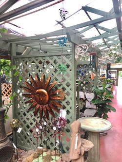 Rain Chain and Sun hanger