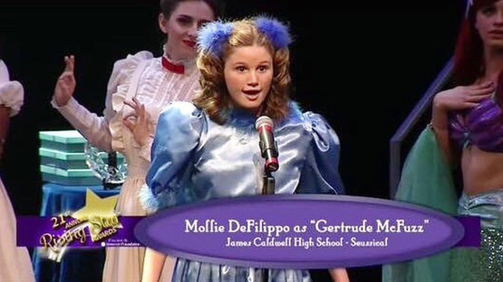 Paper Mill Playhouse Rising Star Awards Leading Actress Medley (nominated for Gertrude McFuzz in Seussical)