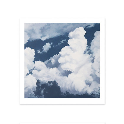"""Signed Print 8.5 in. x 8.5 in. - """"Contemplative"""""""