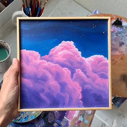 """Magic Clouds - 8"""" x 8"""""""