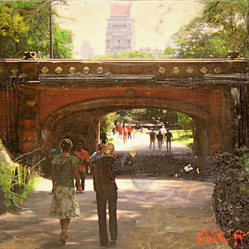 The Path Under Driprock Arch