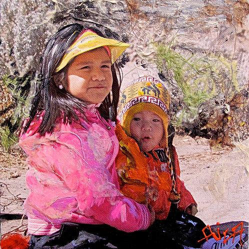 Siblings in the Colca