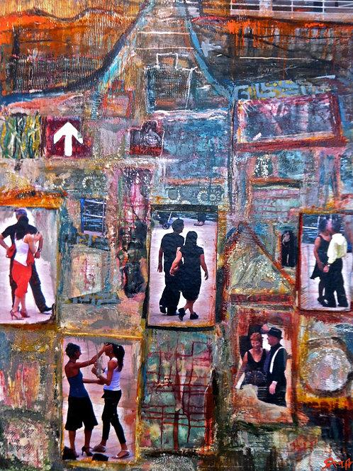 Tango Class at Bilbao´s Museum