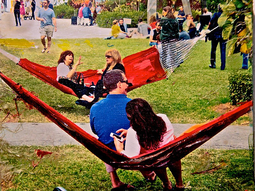 All About the Red Hammocks  8 x 10 inches