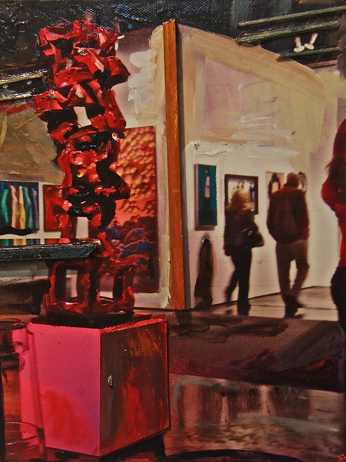 The Red Sculpture
