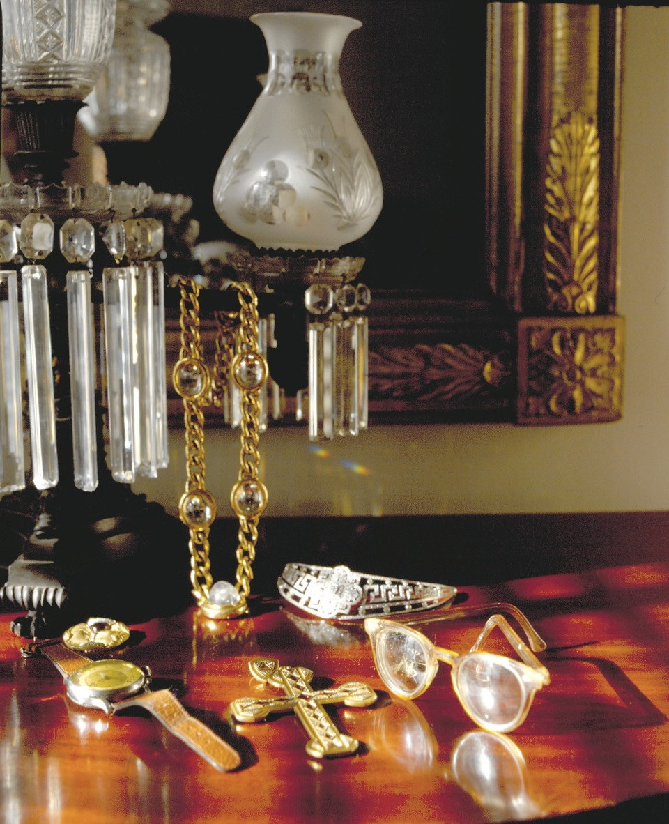 Andy Warhol's Jewelry in Bedroom