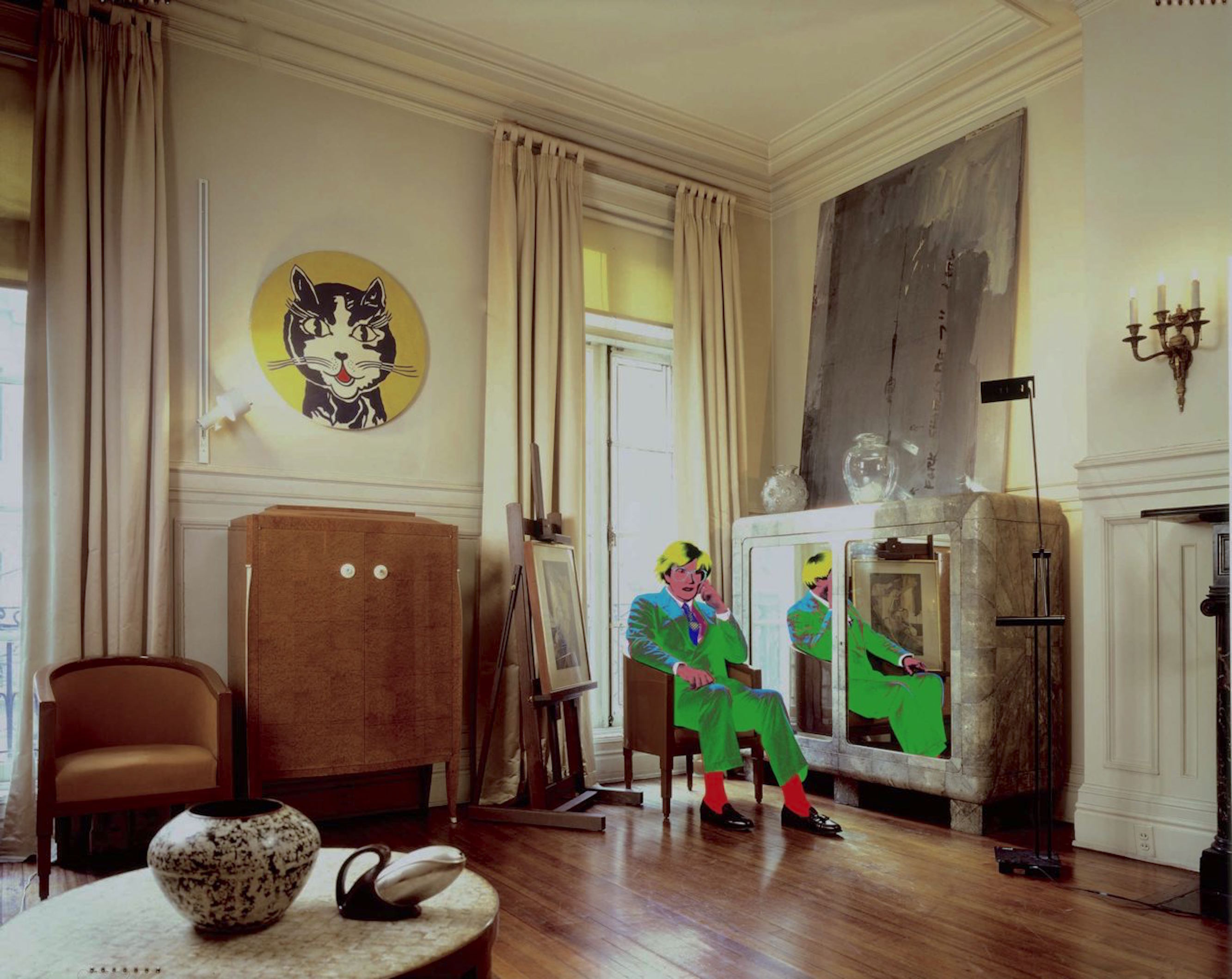 Andy Warhol's Living Room
