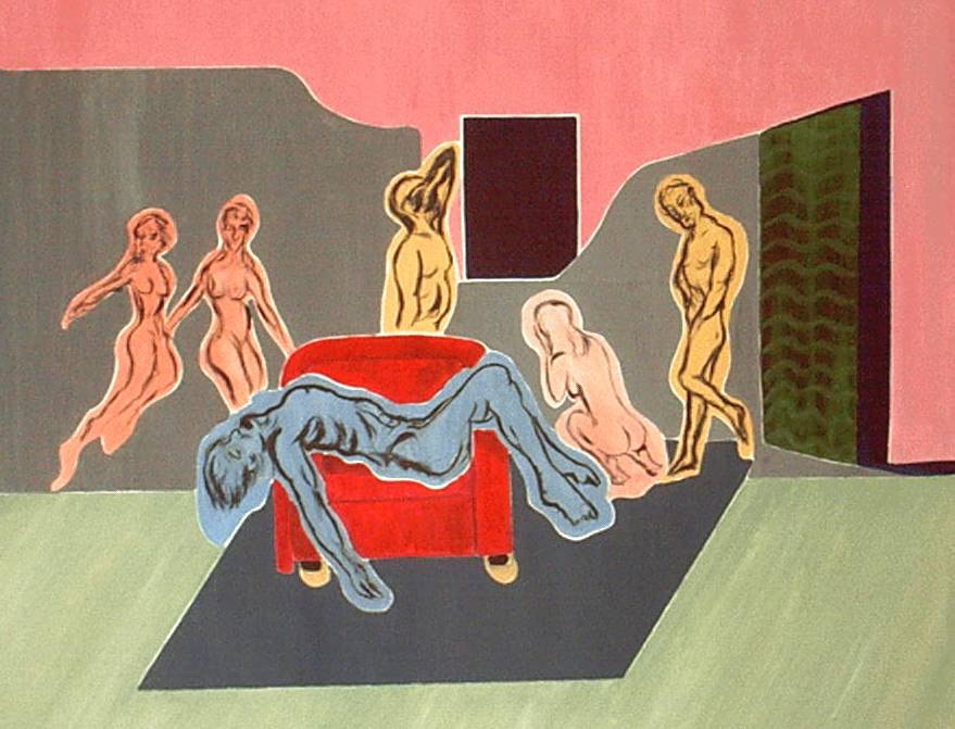 Pieta, The Red Chair
