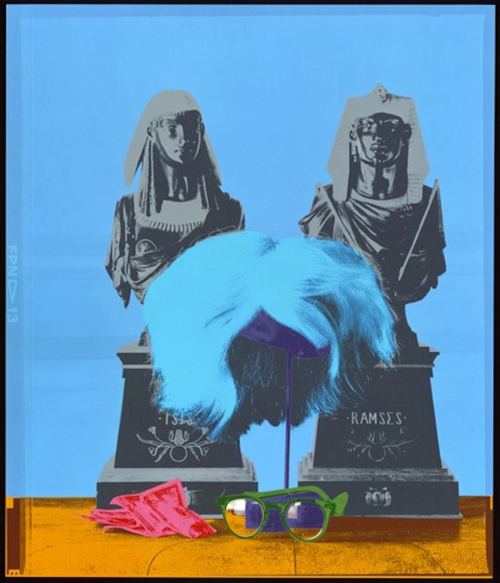 "Andy Warhol's Wig ""Silkscreen"" Marilyn Color Series"
