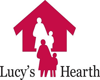 Logo for homeless shelter Lucy's Hearth