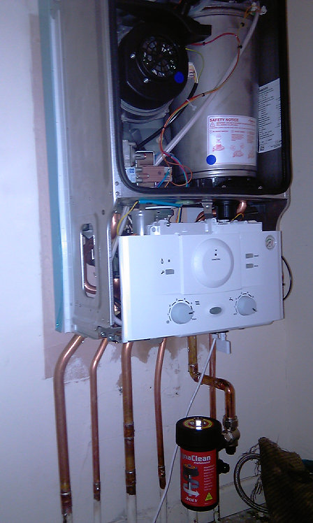 Combination Boiler Service.