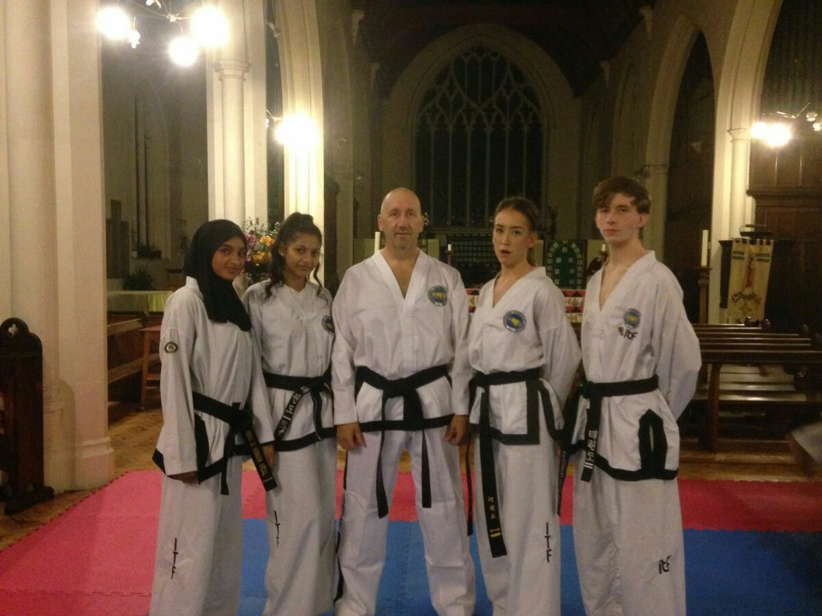 Club black belts