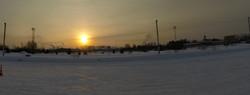 солнце над полигоном