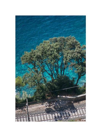turquoise water in Liguria, Italy. photo Saara Vuola
