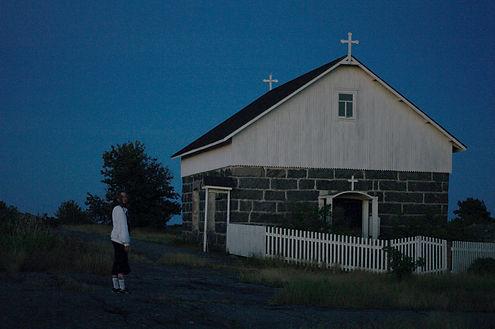 the chapel of Utö, Finland