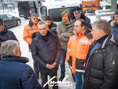 Дмитрий Пестов проверил реализацию программы по раздельному сбору отходов