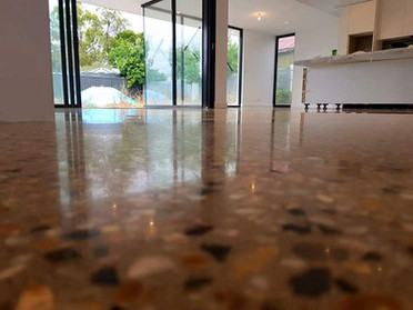 Concrete Floor Aggregate Options