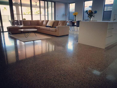 Internal Polished Concrete Floor