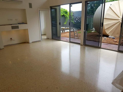 House Slab Polished Concrete