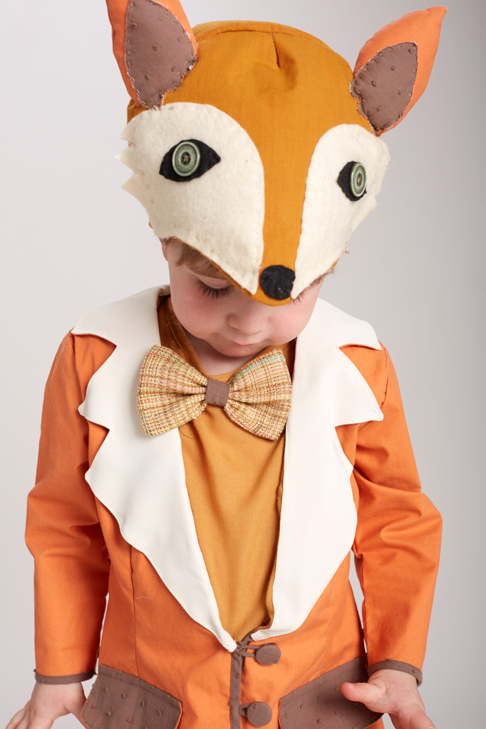 THIS KID IS IN A FOX COSTUME.