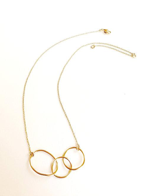 Collier L'Oasis 3 anneaux