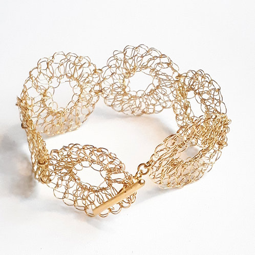 Bracelet Filament Marguerite