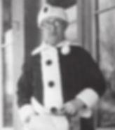 Santa Claus Postmaster James F. Martin