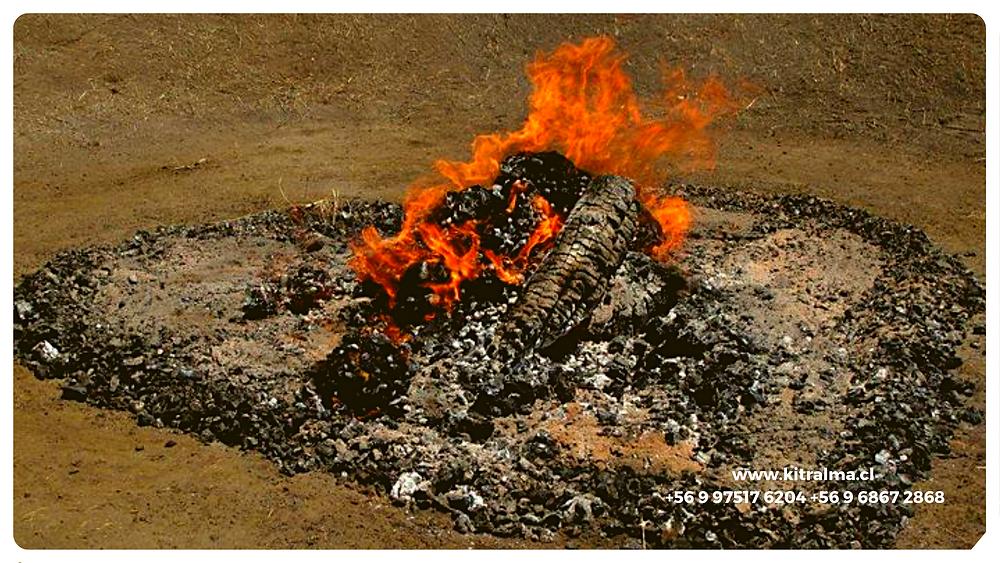 Fuego Sagrado en Chile del camino Rojo.