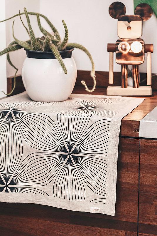 decoração pano ímã vaso mickey planta design de interiores linho artesanal