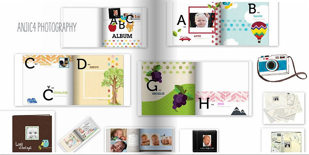 ABC Foto album-knjigica za najmlajše